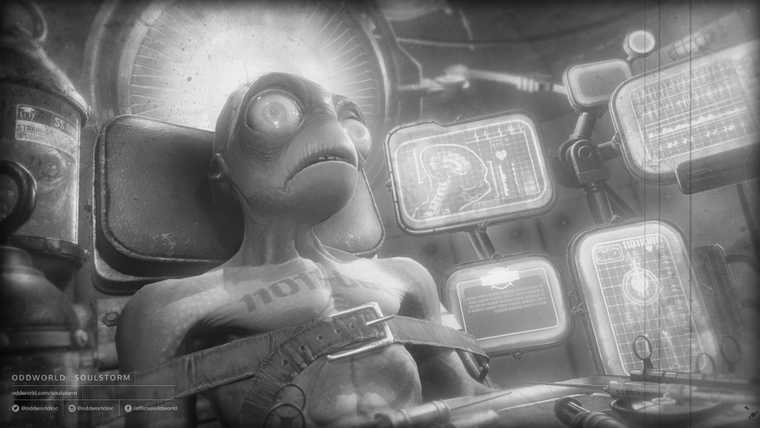 A screen from the Oddworld Soulstorm Alternate Reality Game