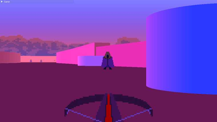 Screen from early Box2D prototype by Rachel Crawford